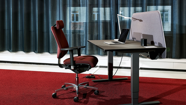 Sit stand desk euroworkspace